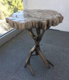 Amparo Calderon Tapia One of a Kind Bronzed Side Table by Amparo Calderon Tapia - 580752