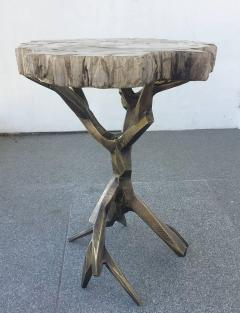 Amparo Calderon Tapia One of a Kind Bronzed Side Table by Amparo Calderon Tapia - 580753