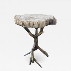 Amparo Calderon Tapia One of a Kind Bronzed Side Table by Amparo Calderon Tapia - 581111