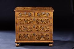 An 18th Century English Marquetry Walnut Chest Circa 1700 - 127831