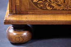 An 18th Century English Marquetry Walnut Chest Circa 1700 - 127832