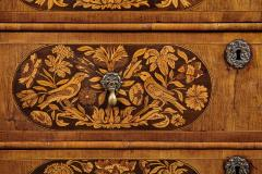 An 18th Century English Marquetry Walnut Chest Circa 1700 - 127833