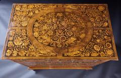 An 18th Century English Marquetry Walnut Chest Circa 1700 - 127834