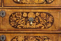 An 18th Century English Marquetry Walnut Chest Circa 1700 - 127836