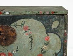 An 18th century polychrome and parcel gilt Spanish Colonial Vargueno - 1116648