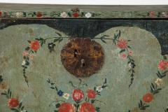 An 18th century polychrome and parcel gilt Spanish Colonial Vargueno - 1116650