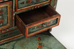 An 18th century polychrome and parcel gilt Spanish Colonial Vargueno - 1116673