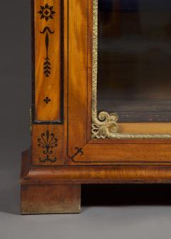 An Amaranth And Ebony Inlaid Display Cabinet Or Bookcase - 1307320