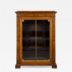 An Amaranth And Ebony Inlaid Display Cabinet Or Bookcase - 1308765