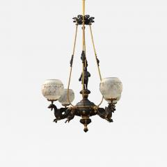 An American Gas Chandelier - 961400