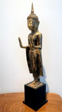 An Antique Gilt Wood Buddha Statue - 865590