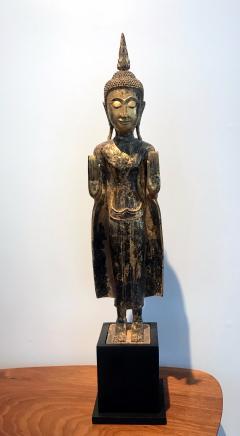 An Antique Gilt Wood Buddha Statue - 865591