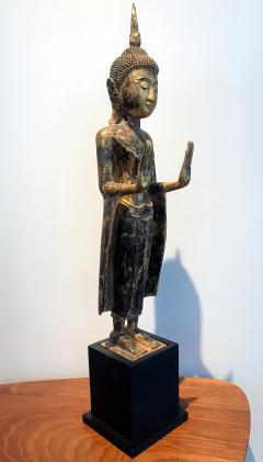 An Antique Gilt Wood Buddha Statue - 865592