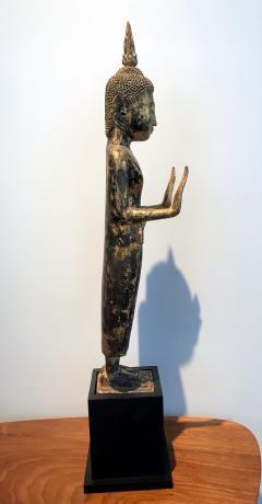 An Antique Gilt Wood Buddha Statue - 865593