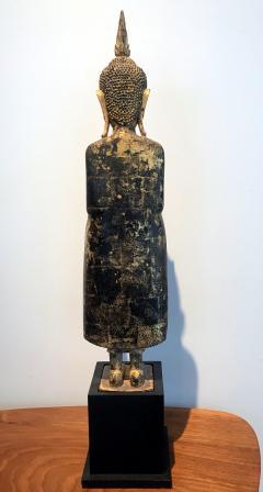 An Antique Gilt Wood Buddha Statue - 865595