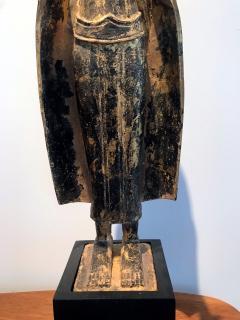 An Antique Gilt Wood Buddha Statue - 865599