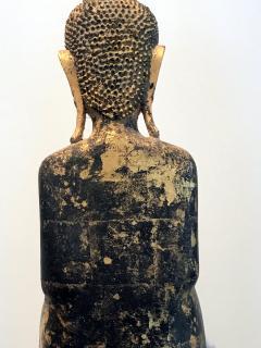 An Antique Gilt Wood Buddha Statue - 865600