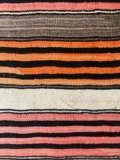 An Antique Navajo Banded Blanket - 457742