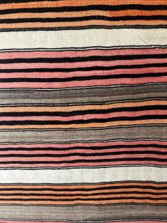 An Antique Navajo Banded Blanket - 457744