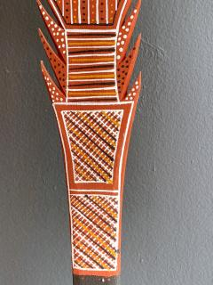 An Australian Aboriginal Carved and Pained Spear from Melville Island - 950431