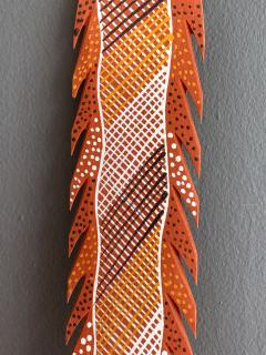 An Australian Aboriginal Carved and Pained Spear from Melville Island - 950432