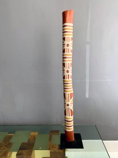 An Australian Aboriginal Painted Totem Pole from Elcho Island - 950279