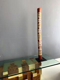 An Australian Aboriginal Painted Totem Pole from Elcho Island - 950280