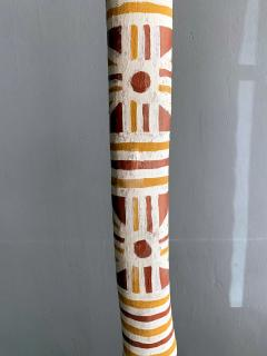 An Australian Aboriginal Painted Totem Pole from Elcho Island - 950282