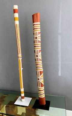 An Australian Aboriginal Painted Totem Pole from Elcho Island - 950286