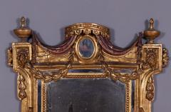 An Early Neoclassical Giltwood and Mecca Laccata Mirror Italian ca 1770 - 97152