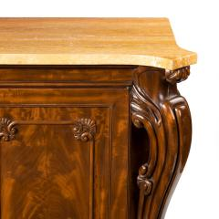 An Early Victorian Two Door Mahogany Side Cabinet Attributed To Gillows - 1303053