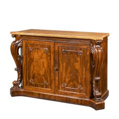 An Early Victorian Two Door Mahogany Side Cabinet Attributed To Gillows - 1303056