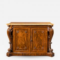 An Early Victorian Two Door Mahogany Side Cabinet Attributed To Gillows - 1304248