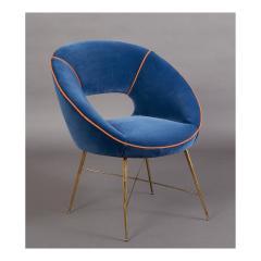 An Egg Shaped Modernist Italian Chair 1950s - 1989295