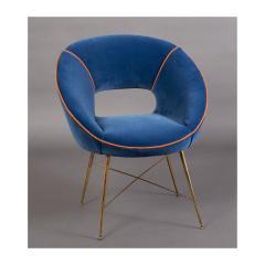 An Egg Shaped Modernist Italian Chair 1950s - 1989296