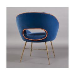 An Egg Shaped Modernist Italian Chair 1950s - 1989298