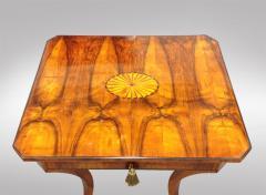 An Elegant Biedermeier Single Drawer Sewing Table - 457712