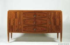 An Elegant Modernist Style Bedroom Chest of Drawers by Iliad Design - 453927
