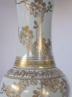 An Elegant Pair of 19th Century Chinese Porcelain Vases Now Lamps - 429659