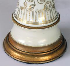 An Elegant Pair of 19th Century Chinese Porcelain Vases Now Lamps - 429660