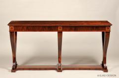 An Elegant Six Legged Console Table by Iliad Design - 453673