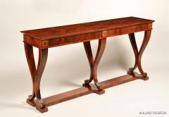 An Elegant Six Legged Console Table by Iliad Design - 453674
