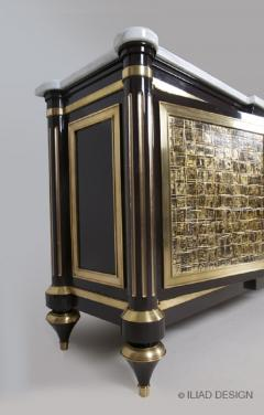 An Elegant and Spectacular Neoclassically Inspired Sideboard by Iliad design - 453944