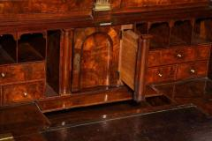 An Exceptional Burl Walnut Bureau Bookcase - 1060855