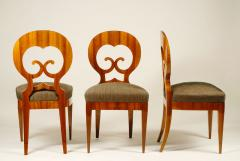 An Exceptional Set of Four Biedermeier Side Chairs - 457285