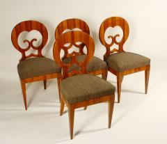 An Exceptional Set of Four Biedermeier Side Chairs - 457286