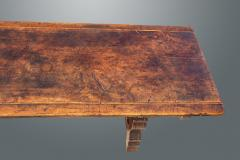 An Exceptional Spanish Walnut Trestle Table - 1233266