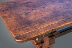 An Exceptional Spanish Walnut Trestle Table - 1233268