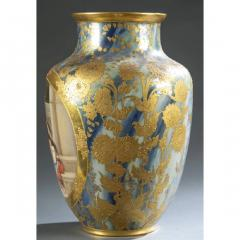 An Exquisite A Royal Vienna Porcelain Vase Depicting a Fortune Teller - 1567076