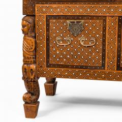 An Indo Portuguese rosewood teak and ebony contador - 2134500